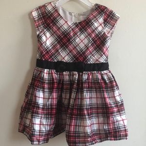 Girls Plaid dress 2T